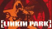 Linkin Park Orange Soldier Collage Sticker