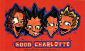Good Charlotte Cartoon Band Sticker
