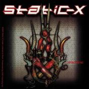 Static-X Band Machine Album Art Sticker