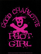 Good Charlotte Riot Girl Logo Sticker