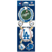 Los Angeles Dodgers Prismatic Stickers