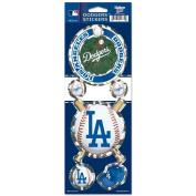 Los Angeles Dodgers Prismatic Stickers