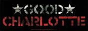 Good Charlotte Red Star Sticker