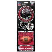 Atlanta Falcons Official NFL 27cm x 10cm Prismatic Car Decal Set Atl by Wincraft