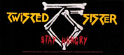 Twisted Sister Stay Hungry Sticker
