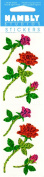 Roses Sparkle Scrapbook Stickers