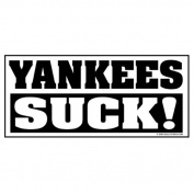 Yankees Suck Sticker