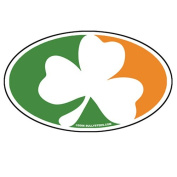 Oval Irish Flag Sticker