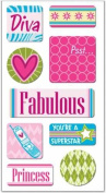 FX 3-D Motion Stickers - Teen Girl
