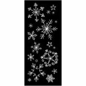 Heidi Swapp Silhouette Images - Snowflakes/white