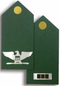 Army Laser Cut Insignia Epaulettes - Officer