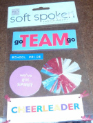 SOFT SPOKEN CHEER STICKERS