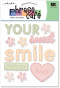Sticko Phrase Cafe Title Epoxy Stickers-your Sweet Smile Melts My Heart