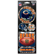 Chicago Bears Prismatic Stickers