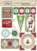 Carta Bella So This Is Christmas Layered Stickers