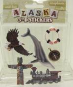 Alaska Scrapbooking Craft Stickers 3-d Totem Pole Inside Passage