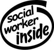 Social Worker Inside Vinyl Graphic Sticker Decal