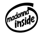 Madonna Inside Vinyl Graphic Sticker Decal