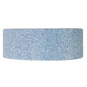 Wrapables Shimmer Japanese Washi Masking Tape, Light Blue