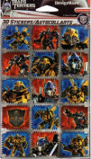 Transformers Dark of the Moon Square Scrapbook Stickers