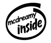 Mcdreamy Inside Vinyl Graphic Sticker Decal
