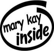 Mary Kay Inside Vinyl Graphic Sticker Decal