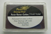 Pearl Ex Ink Pad - Two Tone Gold Violet