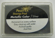 Pearl Ex Ink Pad-silver