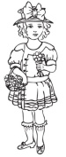 Wishing You Good Things Cling Stamp - Melissa Frances