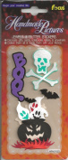Boo Ghosts Halloween Dimensional Scrapbook Stickers