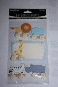 3-D Embellishments Paperbilities Zoo Animals