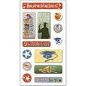 Graduation 3D Sticker FX Lenticular Scrapbook Stickers
