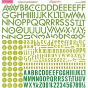 Bella Blvd Green High Five Alphabets