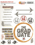 Graduation Academics Rub-Ons for Scrapbooking