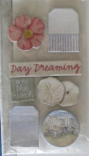 Seashore Chipboard Embellishments for Scrapbooking