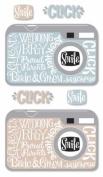 Boutique Le Grande I Do Wedding 3-D Stickers