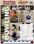 Cardstock Stickers - Bowling
