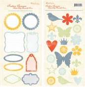 Foof-A-La Chipboard Icons/Panels-Indian Summer