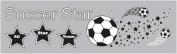 Soccer Rub-ons - Star Player