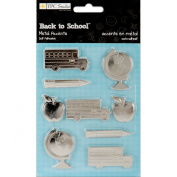 TPC Studio Back To School Adhesive Metal Accents