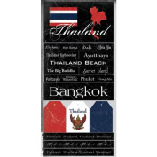 Thailand Scratchy Scrapbook Stickers
