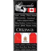 Canada Scratchy Scrapbook Stickers