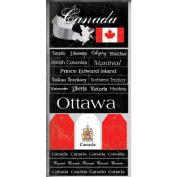 Canada Scratchy Scrapbook Stickers