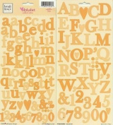 Heidi Grace Designs Alphabet Cardstock Stickers - Bouquet