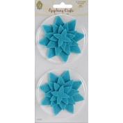 Felt Flowers: Star/Mint