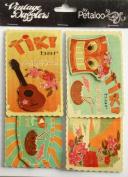 Travel Tiki Tiki Vintage Dazzlers Tags // Petaloo International