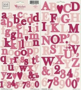 Heidi Grace Designs Alphabet Cardstock Stickers - Garden
