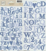 Heidi Grace Designs Alphabet Cardstock Stickers - Woodland