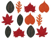 Fall Leaves Felt Stickers