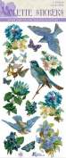 Violette Stickers Bluebird & Flowers